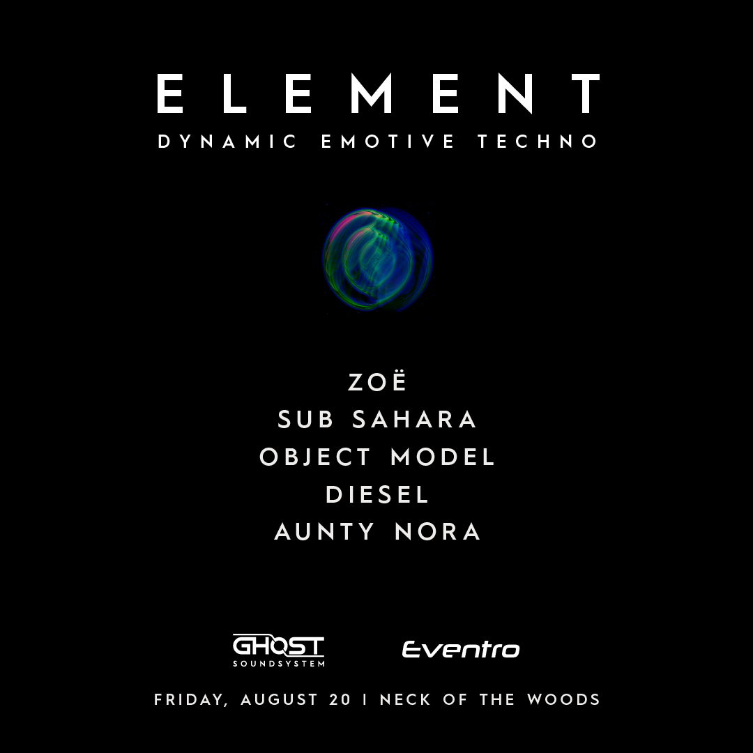 Element event poster Auckland